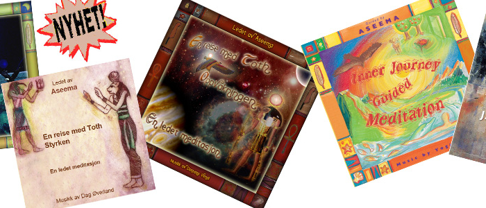 CD-er og bøker utgitt av Aseema